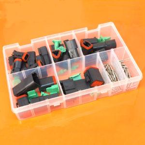 Deutsch DT Series Black Assorted Box 144 Pieces