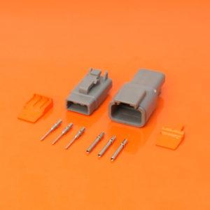 3 Way DTM Series Kit DTM06-3S DTM04-3P