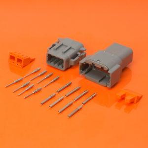 8 Way DTM Kit DTM06-08SA DTM04-08PA
