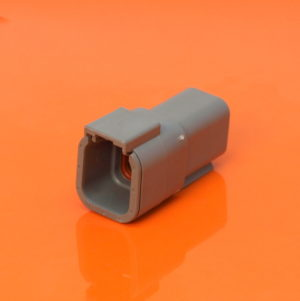 6 Way Receptacle Housing DTM04-6P
