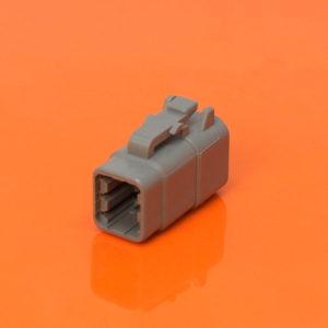 6 Way Plug Housing DTM06-6S