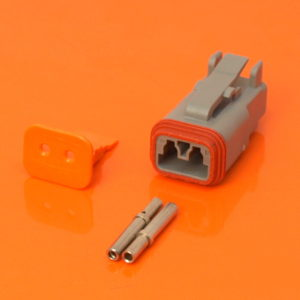 DT Series 2 Way Plug Connector Kit DT06-2S