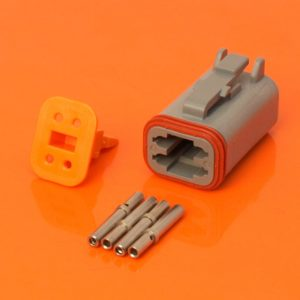 DT Series 4 Way Plug Connector Kit DT06-4S