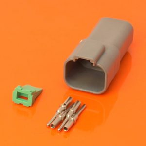 DT Series 4 Way Receptacle Connector Kit DT04-04P