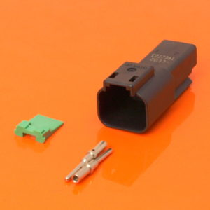 DT Series 2 Way Receptacle Connector Kit DT04-2P-CE02