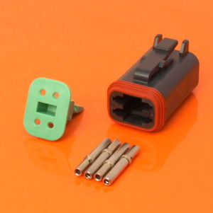 DT Series 4 Way Plug Connector Kit DT06-4S-CE06