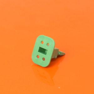 4 Way Plug Wedgelock W4S-P012
