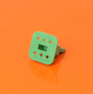 6 Way Plug Wedgelock W6S-P012
