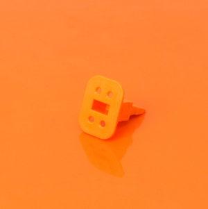 4 Way Plug Wedgelock W4S