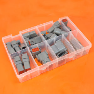 DTM Series Assorted Electrical Connector Box 190 Pieces