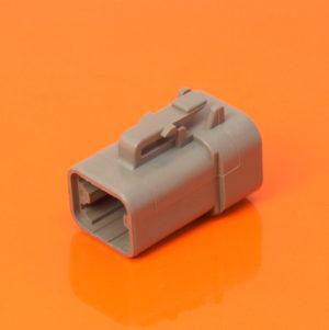 DTP Series 4 Way Plug Housing – DTP06-4S