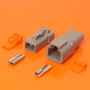 DTP Series 2 Way Connector Plug & Receptacle Kit – DTP04-2P DTP06-2S