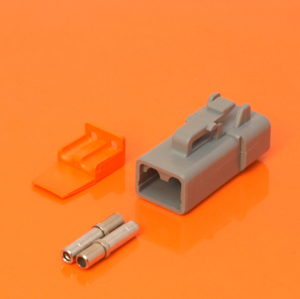 DTP Series 2 Way Plug Connector Kit DTP06-2S