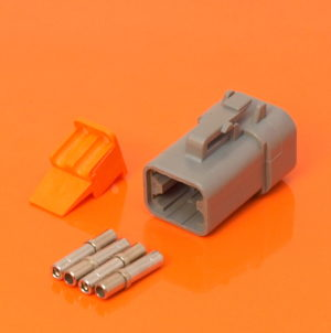 DTP Series 4 Way Plug Connector Kit DTP06-4S
