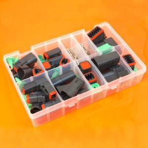 Deutsch DT Series Black Assorted Box 190 Pieces