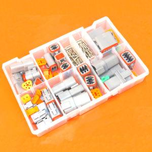 Deutsch DT Series Grey Assorted Box 190 Pieces