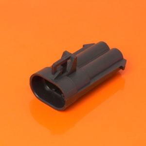 Metri Pack 480 Series 2 Way Male Housing 12065863