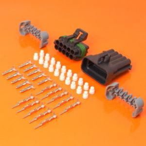 10 Way Delphi Metri Pack 150 Series Connector Kit