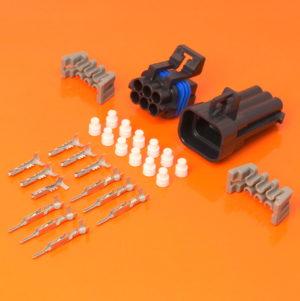 6 Way Delphi Metri Pack 150 Series Connector Kit